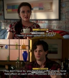 hahaha love this part. blair and chuck <3
