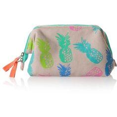 Pineapple Make Up Bag Travel Kits, Travel Bag, Dive Bag, Cos Bags, Oliver Bonas, Travel Toiletries, Cosmetic Bag, Fashion Bags, Pineapple