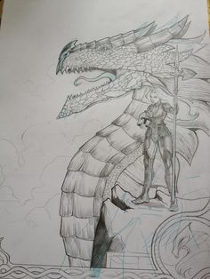 wip chevalier dragon