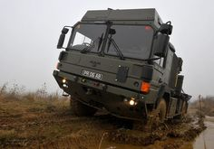 British Army 32 Tonne MAN Vehicle by Defence Images, via Flickr