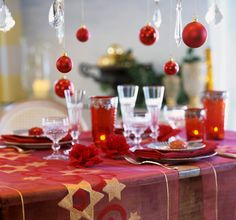 Set a Holiday Table -   Make sure your table looks great for the holidays, whether you're hosting a cast of thousands or just having a quiet dinner for two. Here, we've got everything you need to set a stylish — and festive — tone.                                                                     Ha...  #Bed, #Bedding, #Blanket, #Bowl, #Candle, #Candlestick, #Charm, #ChristmasTree, #Cleaner, #Diamond, #Dress, #Earthenware, #Fragrance, #Frame, #Nap
