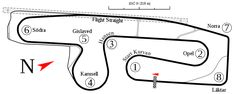 The Anderstorp Raceway used for the Swedish Grand Prix as an accredited Formula One event from 1973 to Slot Cars, Race Cars, Major Events, Formula One, Race Tracks, Grand Prix, Dream Cars, Maps, Auto Racing