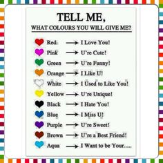 #TELL ME.... What colours will you give me? ❤️