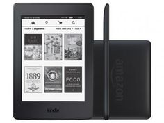 "Kindle Paperwhite Amazon Tela 6"" 4GB Wi-Fi - Luz Embutida Preto"