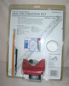 Logan Freestyle Mat Cutter Tool Kit  * Make your own Picture Frame Mats