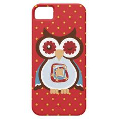 """Cartoon Owl iPhone """"5 5s"""" barely there case"""