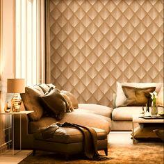 ταπετσαρια τοιχου ρομβοι 88206 - Ταπετσαρίες τοίχου Wallpaper Paste, Geometric Wallpaper, Vinyl Wallpaper, Diamond Pattern, Lounge, Living Room, Ebay, Furniture, Design