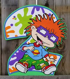 44 best hand painted rugrats poster board cutouts images on