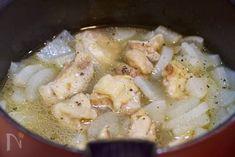 汁まで飲み干す♪『とろとろ大根のうま塩にんにく鶏スープ』 by Yuu | レシピサイト「Nadia | ナディア」プロの料理を無料で検索