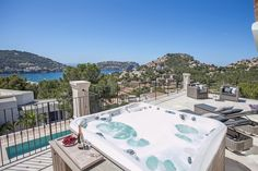 Luxury Holiday Villa Corin, Puerto Andratx, Mallorca South West, sleeps 10, pool