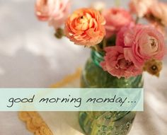 No more Monday morning blues Good Morning Facebook, Good Morning Happy Monday, Happy Sunday Quotes, Good Morning World, Good Morning Picture, Good Morning Everyone, Good Morning Good Night, Morning Pictures, Good Morning Wishes