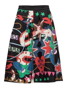 650kr Scotch & Soda Full midi skirt in solid and prints
