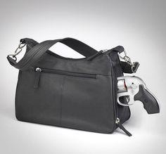 GTM-70 Concealed Carry Basic Hobo Handbag Black