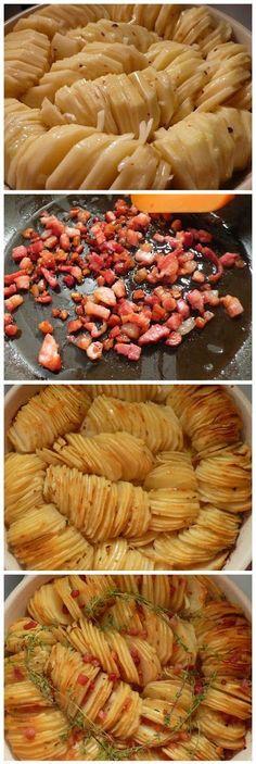 Thinly sliced potatoes baked with sauteed bacon, olive oil and thyme Patatas al horno cortadas finas con bacon salteado, aceite de oliva y tomillo Subido de Pinterest. http://www.isladelecturas.es/index.php/noticias/libros/835-las-aventuras-de-indiana-juana-de-jaime-fuster A la venta en AMAZON. Feliz lectura.