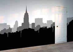 New York, New York Wall Stickers