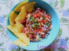 Salsa tortilla csipsszel