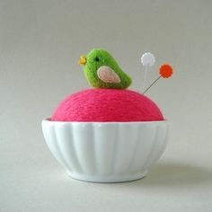 Do I need a felted pincushion? I've got at least three pincushions already.