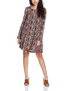 12 (Manufacturer Size: 3), Black, Teddy Smith Women's Rine Dress NEW