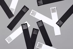 Visual identity for The Manual designed by Moniker.