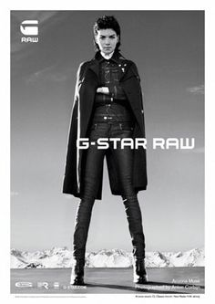 Arizona Muse Hits the French Alps for G-Star's Fall 2012 Campaign http://lcky.mg/NL5rLD