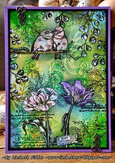 Art Journey Design-team: Garden birds & Tulips