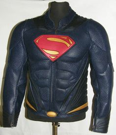 MAN OF STEEL | SUPERMAN Leather Jacket