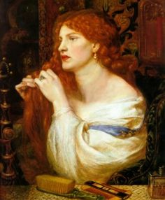 Dante Gabriel Rossetti, Aurelia (l'amante di Fazio) 1863-1873