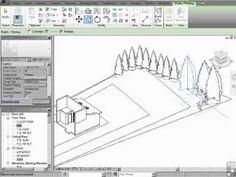 InfiniteSkills Tutorial | Revit Architecture Adding Trees And Bushes | Training Essentials