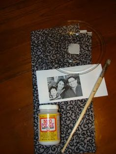Fireflies and Jellybeans: Grandparent Gift Idea: How to make a Photo Plate