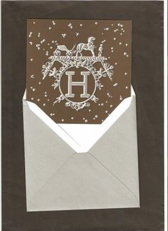 Hermès - carte de voeux 'Vif Argent' by Dimitri Rybaltchenko