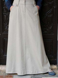 SHUKR USA | Basic A-Line Flare Skirt