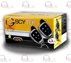 Sourcing-LA: SCYTEK G25 CAR ALARM SYSTEM WITH KEYLESS ENTRY & T...