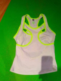 """""""Wrestler vest"""" in white/yellow. this is the front.   back: http://www.pinterest.com/pin/9077636723216299/"""