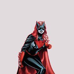 Batwoman in Detective Comics Batwoman, Batgirl, Dc Comics Women, Comics Girls, Marvel Dc Comics, Comic Book Characters, Comic Character, Harley Quinn, Dc Cosplay