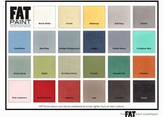 The FAT Paint Company - alternative to AS Chalk Paint...made local in New Westminister, BC