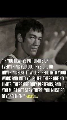 Bruce Lee was a martial artist, philosopher and actor. Up to this day he is considered as a legend. Check out these 11 powerful Bruce Lee Quotes. Great Quotes, Quotes To Live By, Me Quotes, Motivational Quotes, Inspirational Quotes, Wisdom Quotes, Qoutes, Brainy Quotes, Sport Quotes