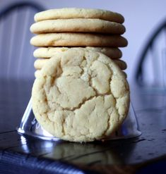 Old Fashioned Sugar Cookies...super delicious with buttercream frosting.