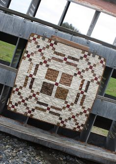 Love the pattern...super easy, attractive, but square!  Easy enough to make rectangular!