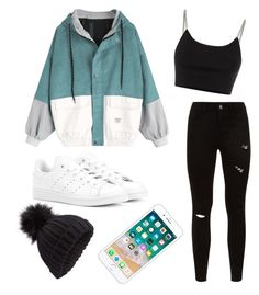 """""""Untitled #0208"""" by samanthavporter on Polyvore featuring adidas Originals, Alexander Wang and Miss Selfridge"""