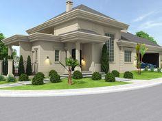 Del Oro Luxus Apartment Homes Modern Bungalow House, Bungalow House Plans, Modern Mansion, Dream House Plans, Modern House Plans, Classic House Exterior, Dream House Exterior, Best Modern House Design, Dream Home Design