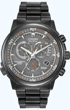 Citizen Citizen Eco-Drive Nighthawk A-T AT4117-56H Atomic Timekeeping