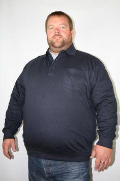 # Kitaro Sweatpolo 155163-210 3-8XL marine