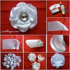 Jeweled Flower flowers  crafts home made easy crafts craft idea crafts ideas  ideas  crafts  idea do it yourself  projects  craft handmade