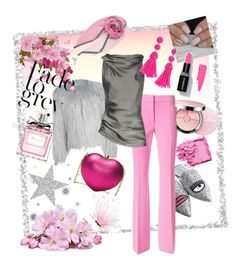 A fashion look from February 2018 featuring satin shirt, gray coat and flared pants. Browse and shop related looks. Satin Shirt, Donna Karan, Bobbi Brown, Moschino, Christian Dior, Fashion Looks, Michael Kors, Cosmetics, Polyvore