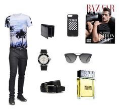 """""""summer"""" by elma-aljic ❤ liked on Polyvore featuring Dockers, Breitling, Dolce&Gabbana, Off-White, Tod's, Moschino, men's fashion and menswear"""