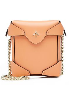 Redirecting you to Stylebop for Manu Atelier Micro Pristine Leather Shoulder Bag. Peach Orange, Orange Bag, Orange Style, Best Designer Bags, Orange Fashion, Leather Shoulder Bag, Shoulder Bags, Yellow Leather, Online Bags