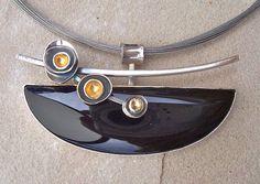 Onyx Pendant by Leslie Aine McKeown