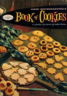 Good Housekeeping's Book of Cookies. $10 at edacious on Etsy - SOLD!https://www.etsy.com/listing/169027933/vintage-cookbook-1950s-good?