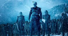 Game of Thrones set photos tease a new White Walker army led by the Night King, with one very big change. Game Of Thrones Poster, Game Of Thrones Books, Game Of Thrones Dragons, Got Game Of Thrones, Georgie Henley, Jamie Campbell Bower, The Witcher 3, Madara Uchiha, Kingsman