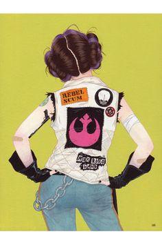 """Rebel"" Original Star Wars Artwork by Julian Callos in Art, Direct from the Artist, Other Art from the Artist | eBay"